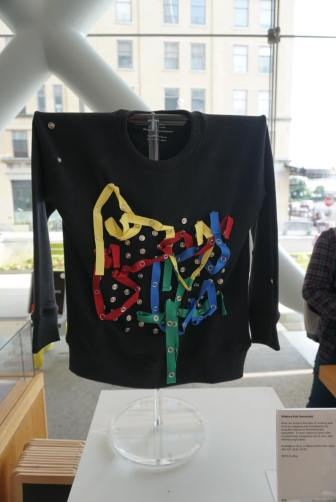This children's snap sweatshirt is perfect for the budding artist (Whitney Museum of American Art Gift Shop)