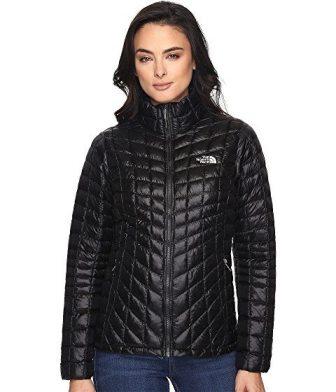 women's travel coat for winter, black