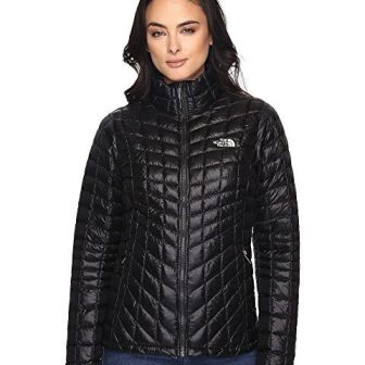 women's travel coat for winter, black