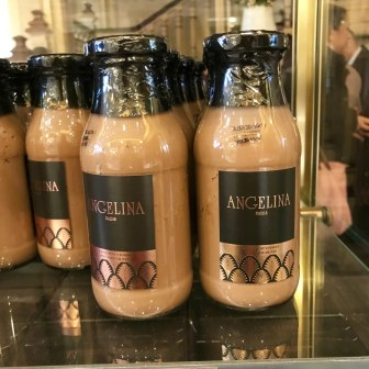 angelina paris hot chocolate souvenir ready to drink bottled take home