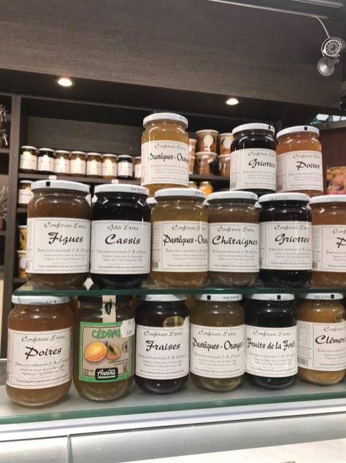 Top Parisian souvenirs-- jam from a local market.
