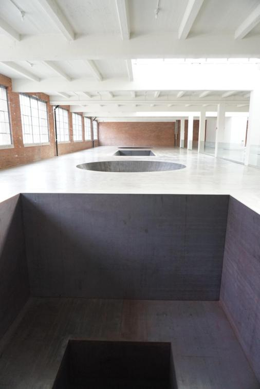 North, East, South, West, Michael Heizer, 1967 (DIA Beacon).