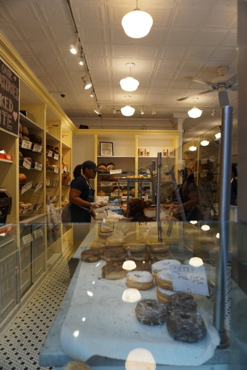 Orwasher's is also known for their jelly doughnuts and sticky bun babka.
