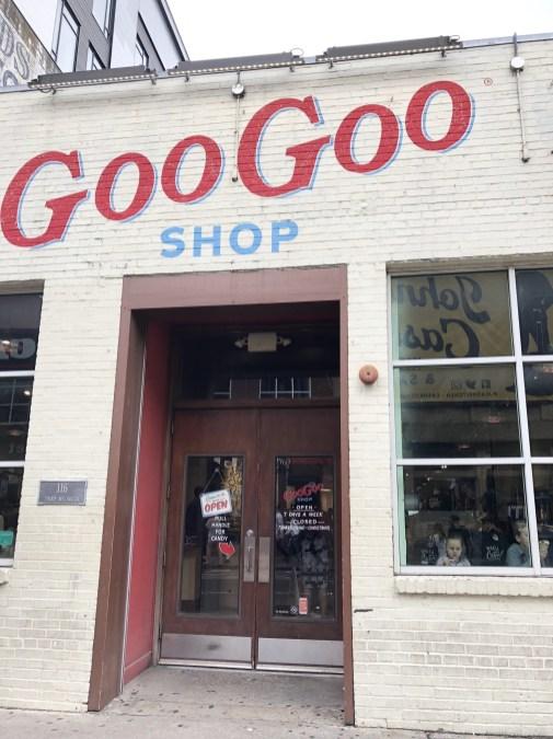 goo goo store front nashville