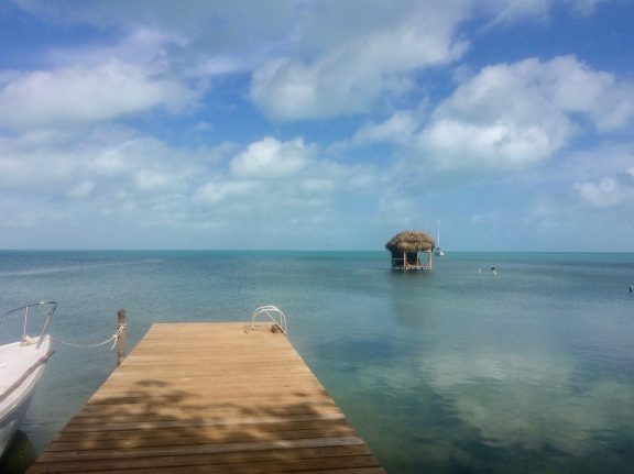 After a couple days, Caye Caulker returned to tropical bliss