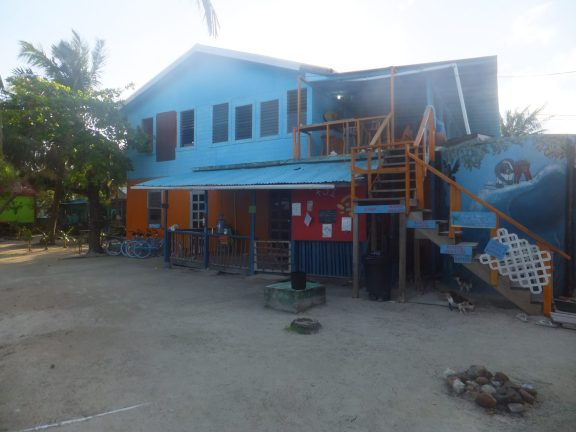 The main building of my hostel; the dorms were much smaller, all wooden buildings on stilts