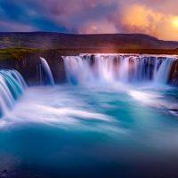 GODAFOSS WATERFALL, ICELAND 21.02.2020