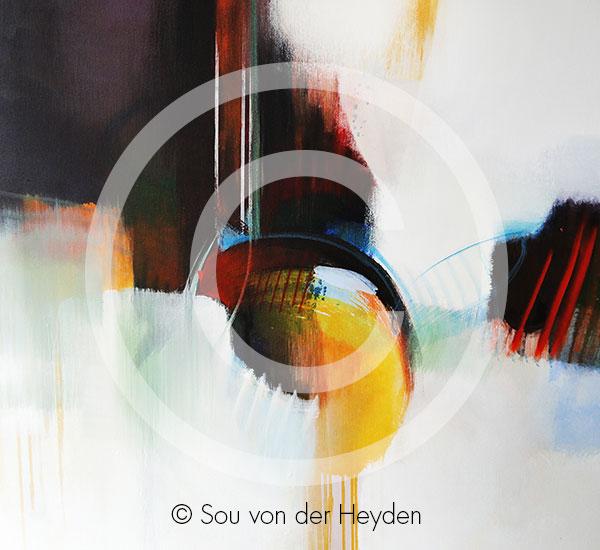 Sou von der Heyden Acrylbild 4