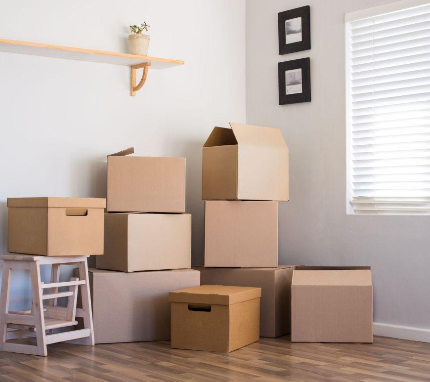 coisas para fazer antes de mudar para o imóvel alugado