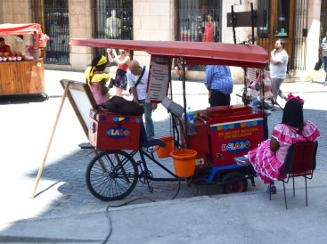 Colorful locals