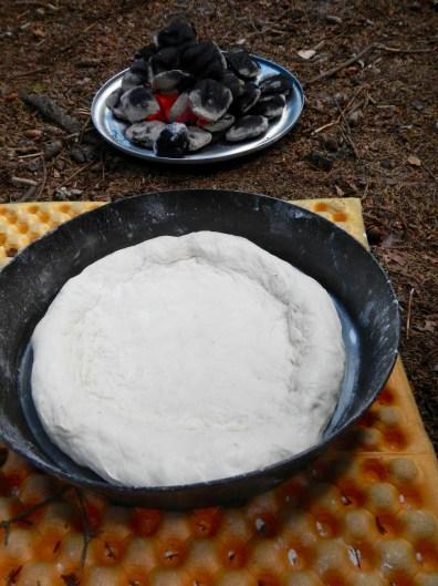 dough in the frybake