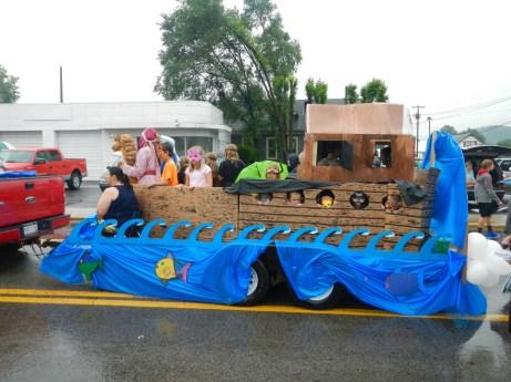 More irony: Noah's Ark