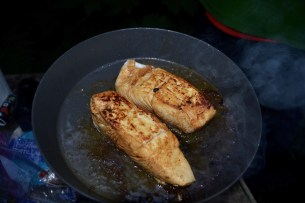 Halibut for the fish tacos