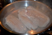 Fresh north Atlantic cod