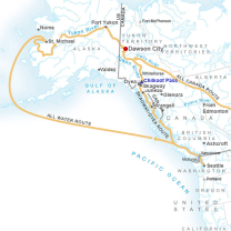 Routes to the Klondike (photo courtesy of NPS)