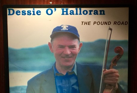 A poster with Dessie's album cover
