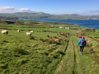 The hike to Eask Tower in Dingle