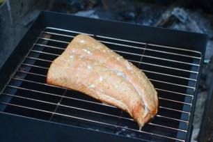 smoked salmon, 30 minutes start to finish