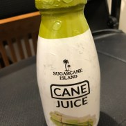 pasteurized cane juice, pretty good stuff