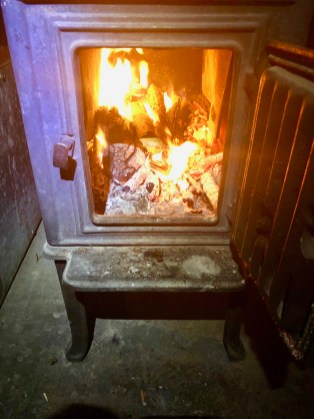 Wood stoves used to be the only stoves we had, right?