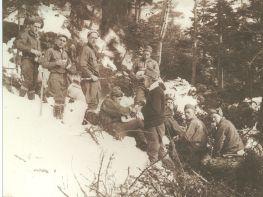 CCC trail crew. Photo courtesy of Burlington Free Press