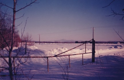 Mansfield from St. Mike's campus, 1984