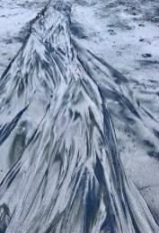 Natural beach art at its finest