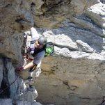 KB on Skyline Traverse, Seneca Rocks, WV