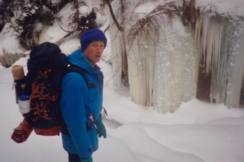 Tim in the pass