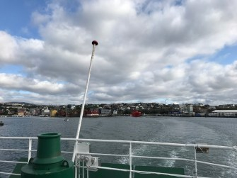 Torshavn from the ferry
