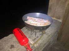 Cooking trout
