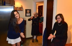 Sometimes Caroling leads to dancing