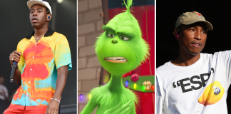 tyler the creator grinch trailer pharrell williams бенедикт камбербэтч