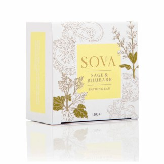SOVA SAGE & RHUBARB BATHING BAR