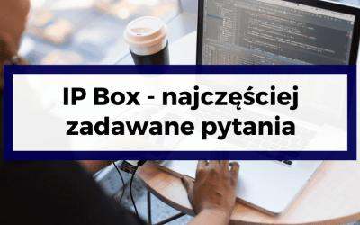IP Box – najczęściej zadawane pytania