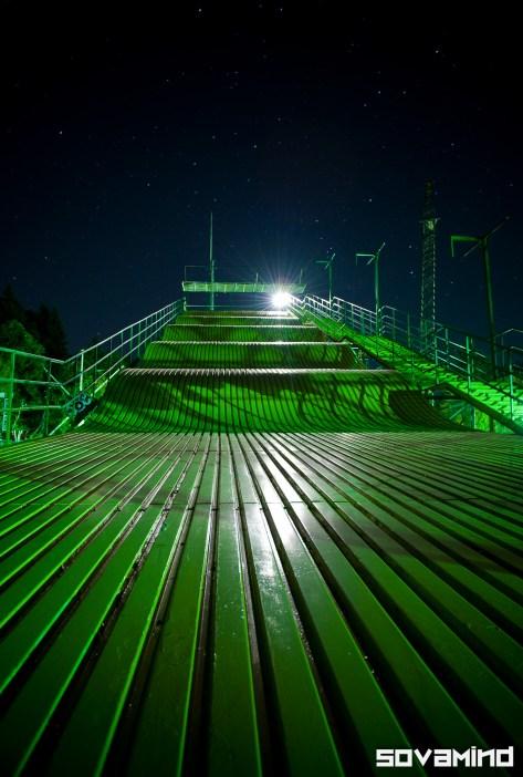 Night Slide, near Salem, Oregon.