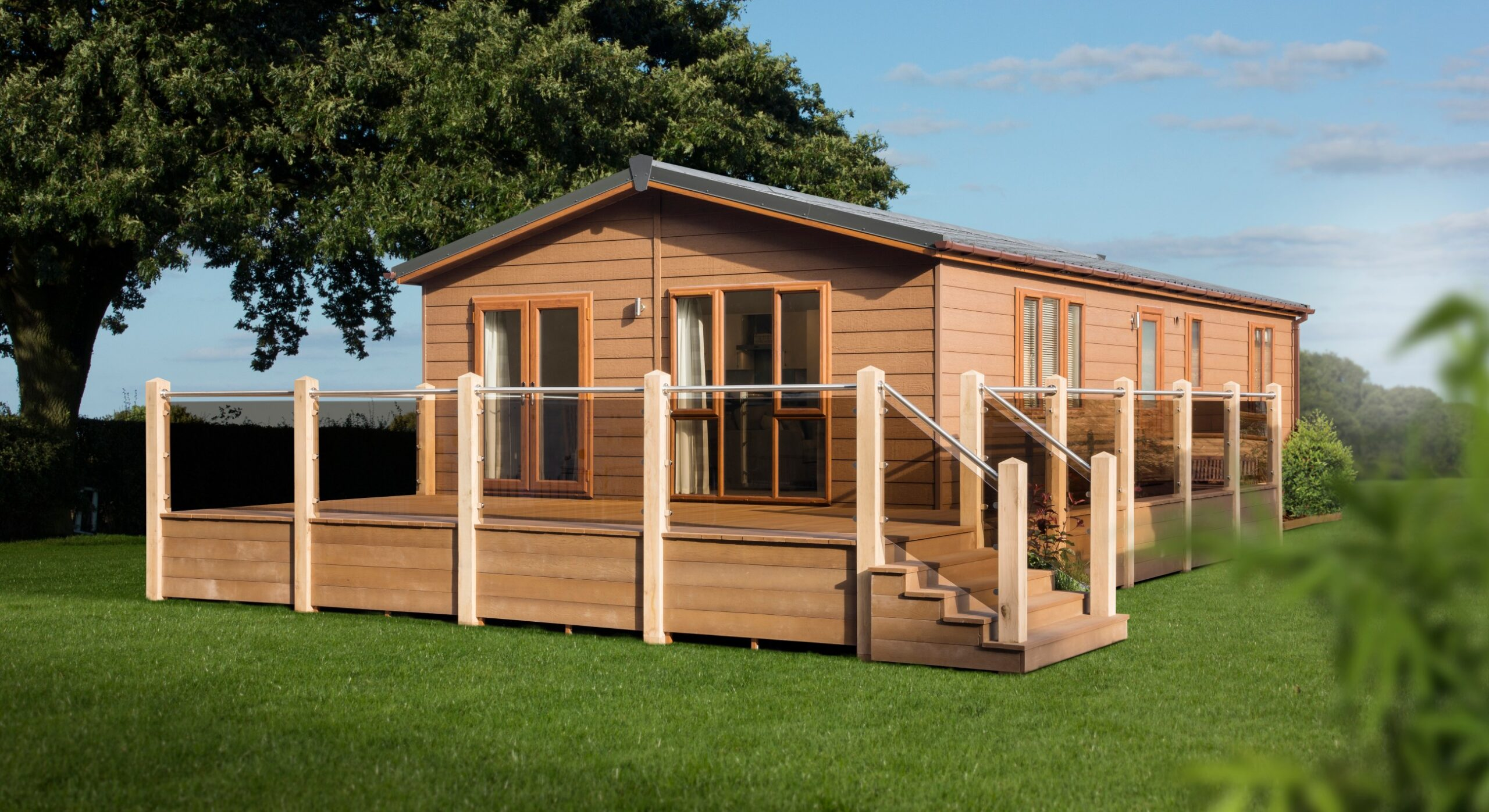 sovereign modular buildings - verity park home and holiday lodge exterior photo