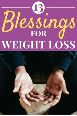 Hands out with palms open in prayer - 13 Blessings For Your Weight Loss Journey