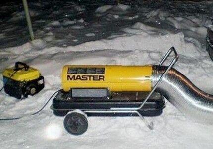 アイス交通渋滞に対する熱銃