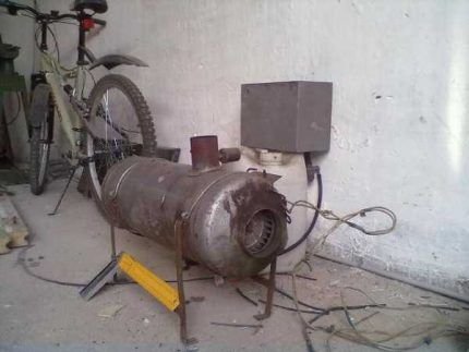 Auto-asamblarea căldurii diesel