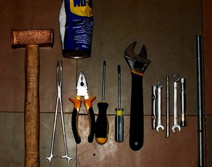 مجموعه ابزار برای مونتاژ