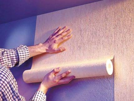 Bir foton fliselin duvar kağıdı yapıştırma