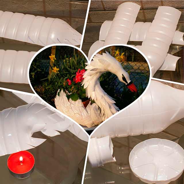 может лебедь из бутылок пластиковых своими руками фото это антибиотик группы
