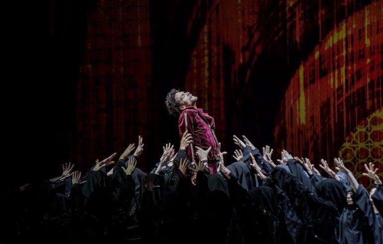 на премьере балета «Данте» в Национальной опере Украины