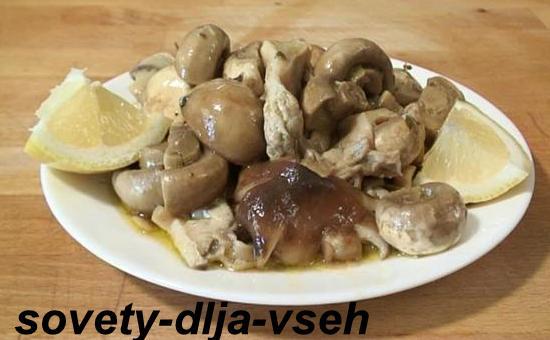 Принципы грибной диеты