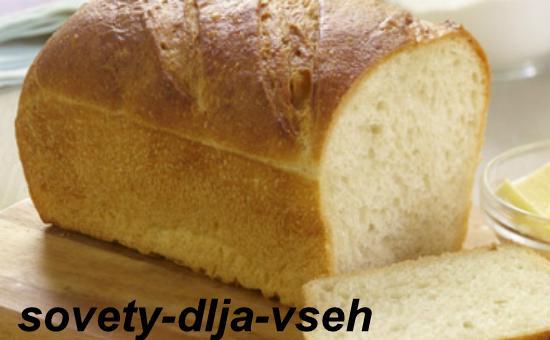 Вред белого хлеба