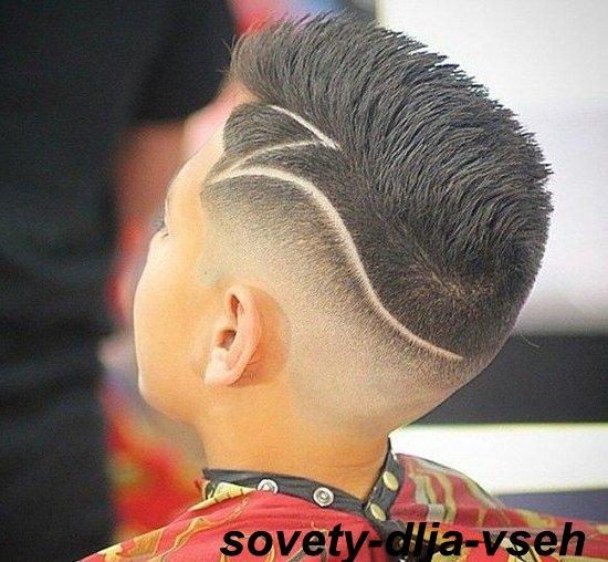 рисунки на волосах фото для мальчиков