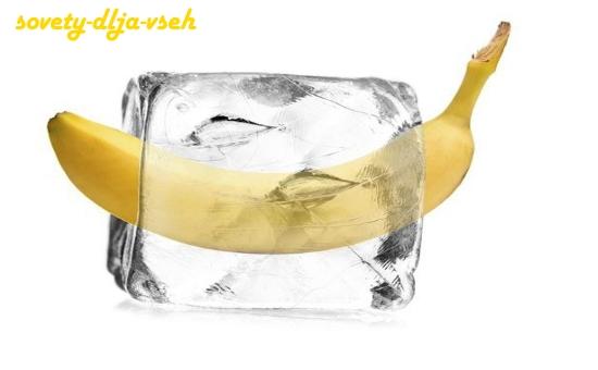 как заморозить бананы на зиму