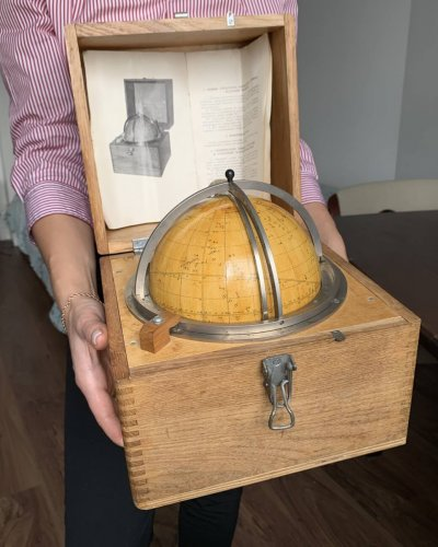 Globe Navigation Céleste Militaire Soviétique