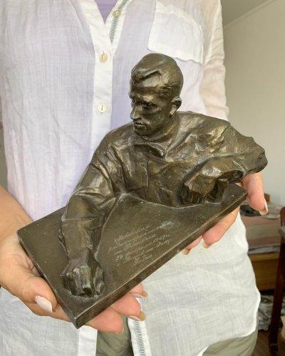 Sculpture Soviétique – Mayakovsky – 1967